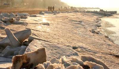 Много льда - Азовское море