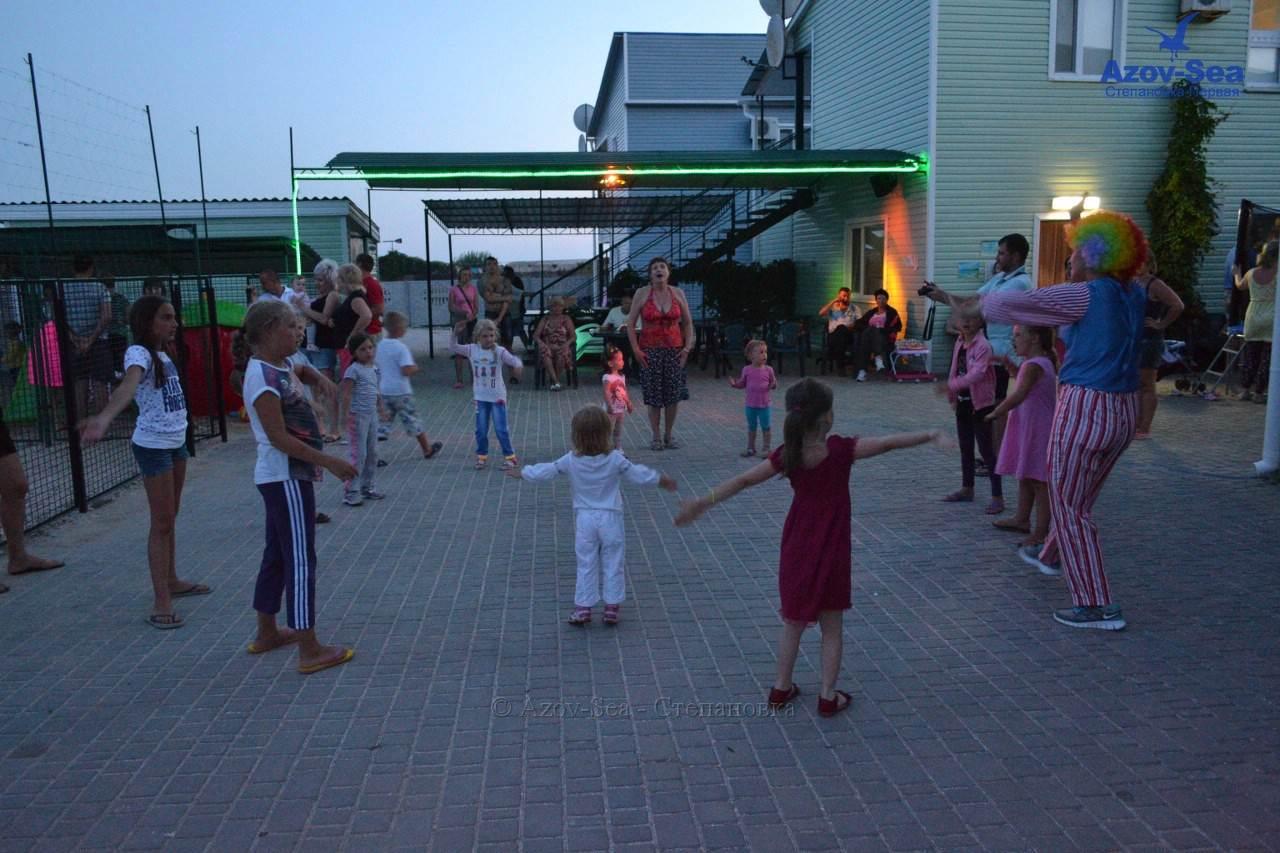 Дети на Азовском море. Вечеринка. Степановка.