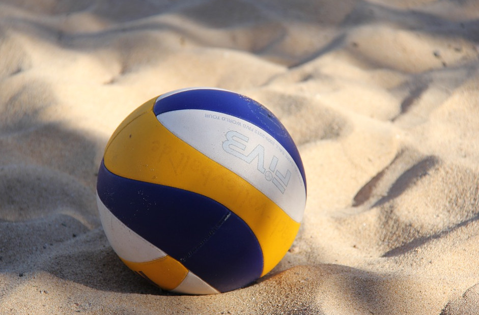 Волейбол - любимая игра с привкусом моря