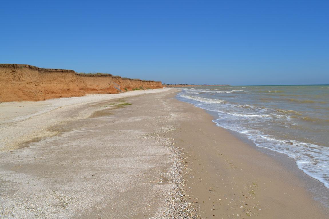 Пляж (в сторону Степановки)
