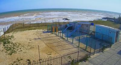 Азовское море. Шторм.