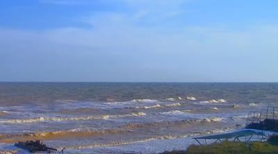 Азовское море шторм