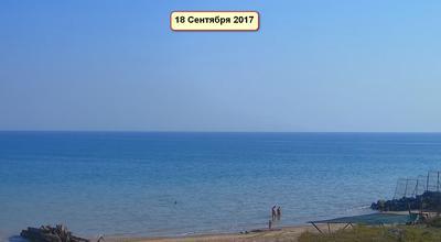 9 Сентября 2017. Погода в Степановке Первой. Азовское море. Вебкамера.