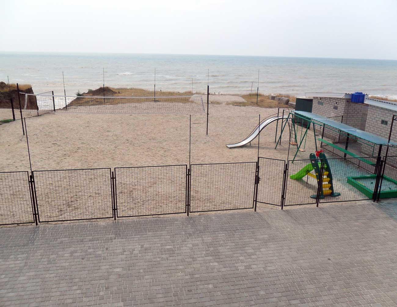 Вид на площадку перед спуском
