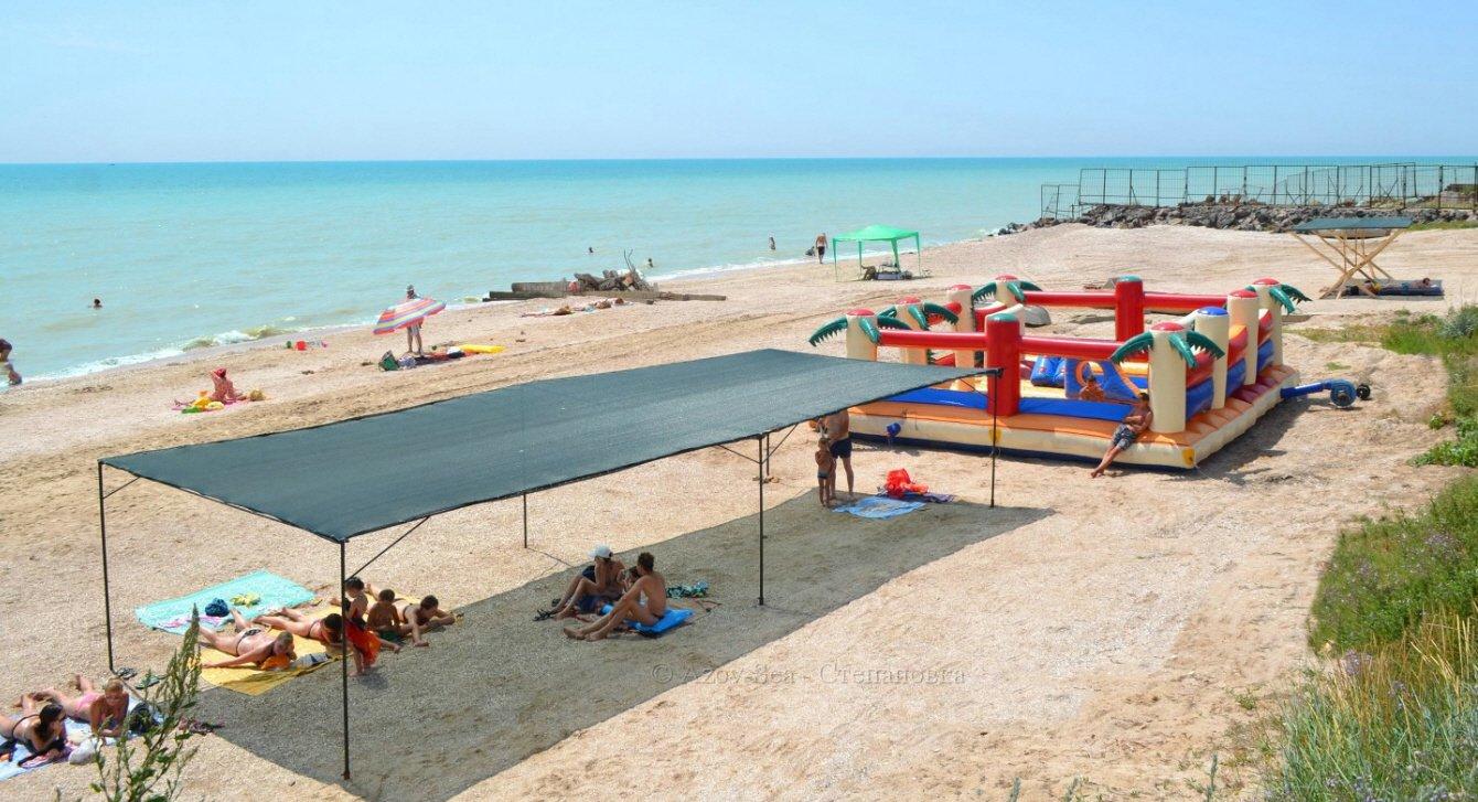 Степановка 1 - Пляж и развлечения.