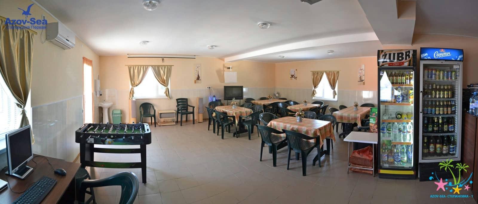 Отдых на Азовском море - Кафе в Степановке Первой