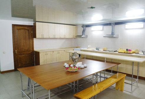 Пансионат Тимур - Кухня