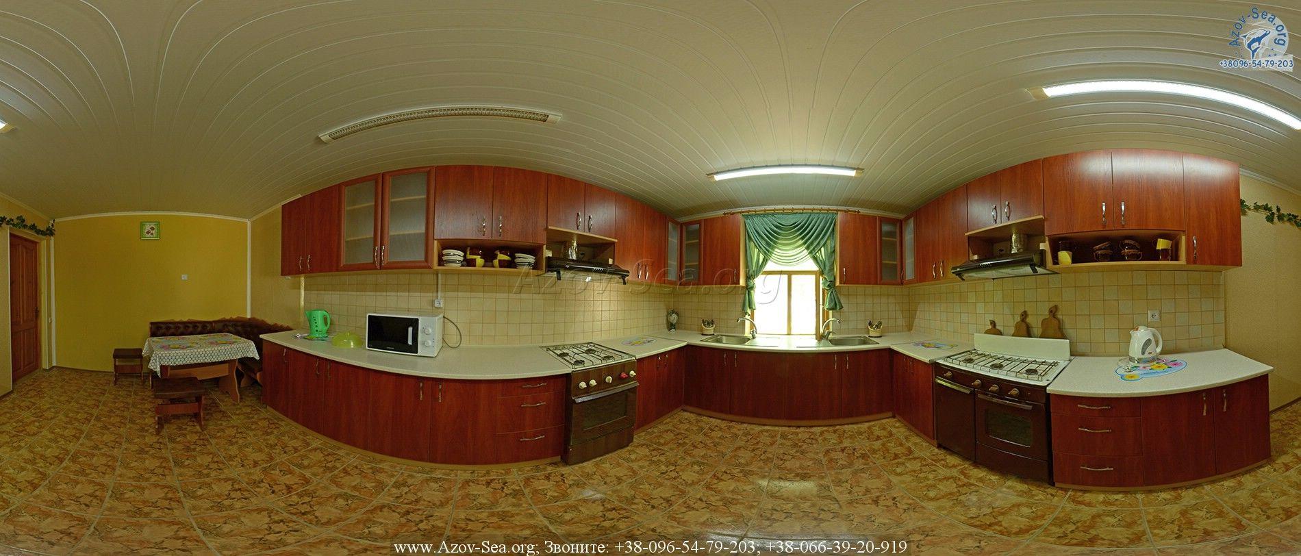 Кухня. База отдыха Тихая Пристань