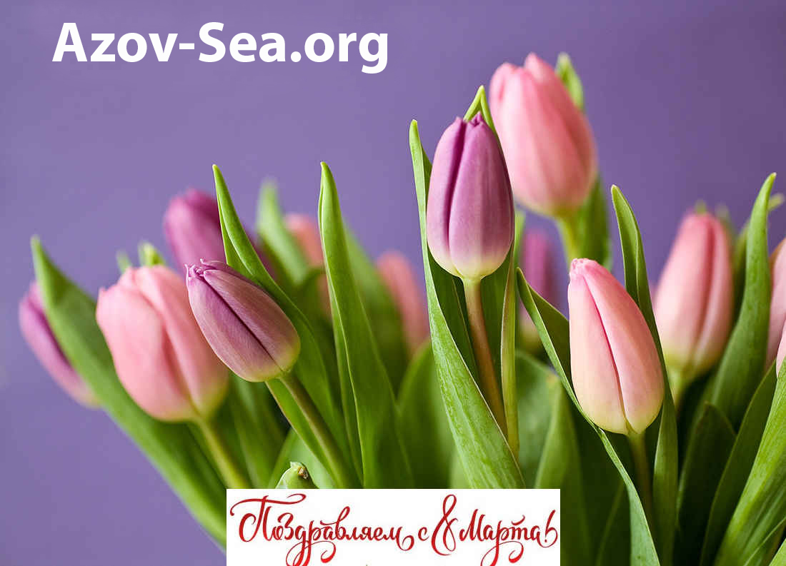 8 марта на азовском море - с праздником