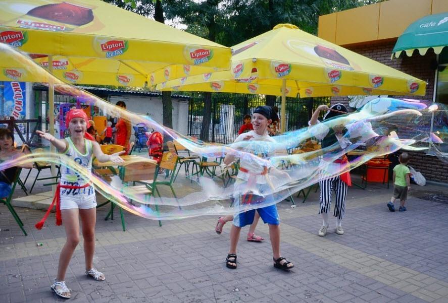 Аниматоры, Азовское море. Степановка Первая