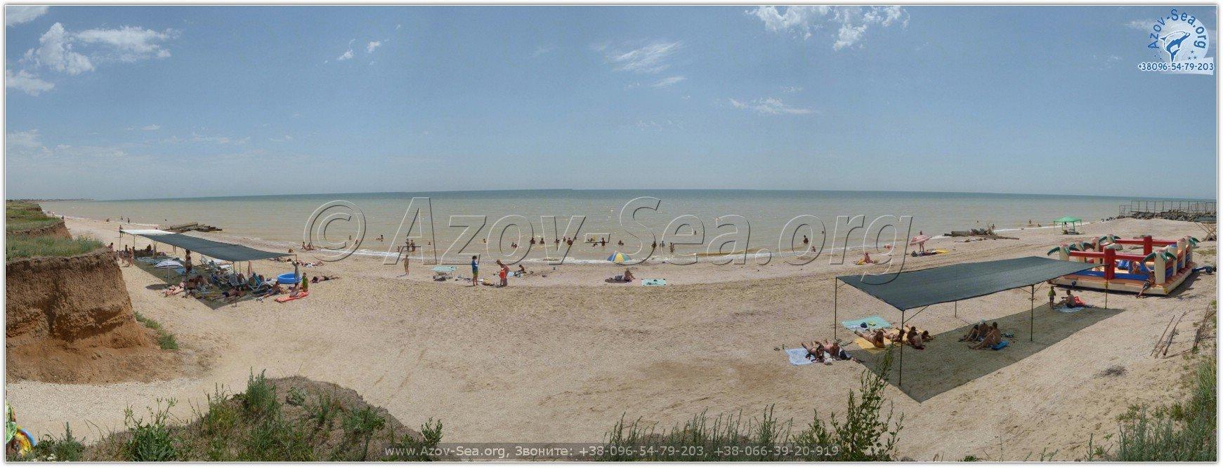 Азовское море. Побережье Азовского моря.