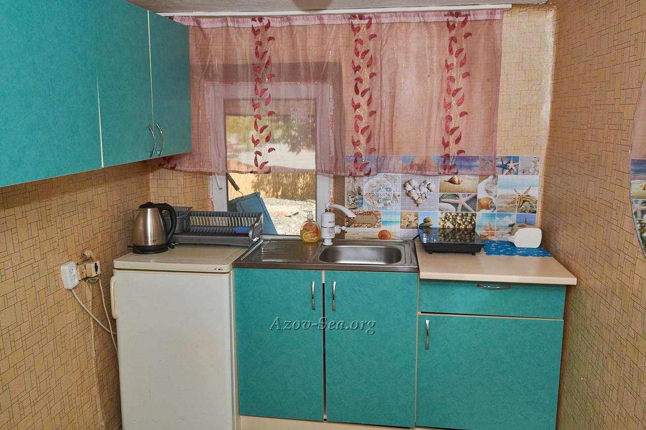 Гостевой дом ДНЕПР. Степановка Первая. Отдельный домик. Кухня.