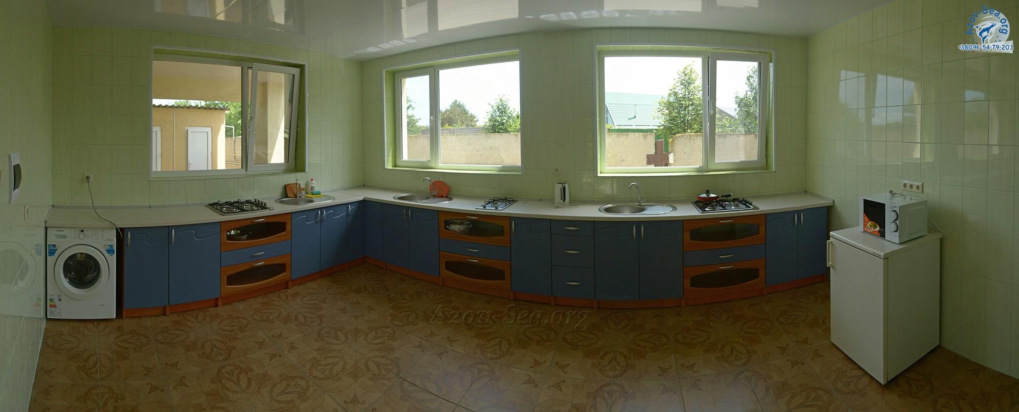 Общая кухня для первого корпуса. База отдыха КСЕНИЯ. Степановка Первая.