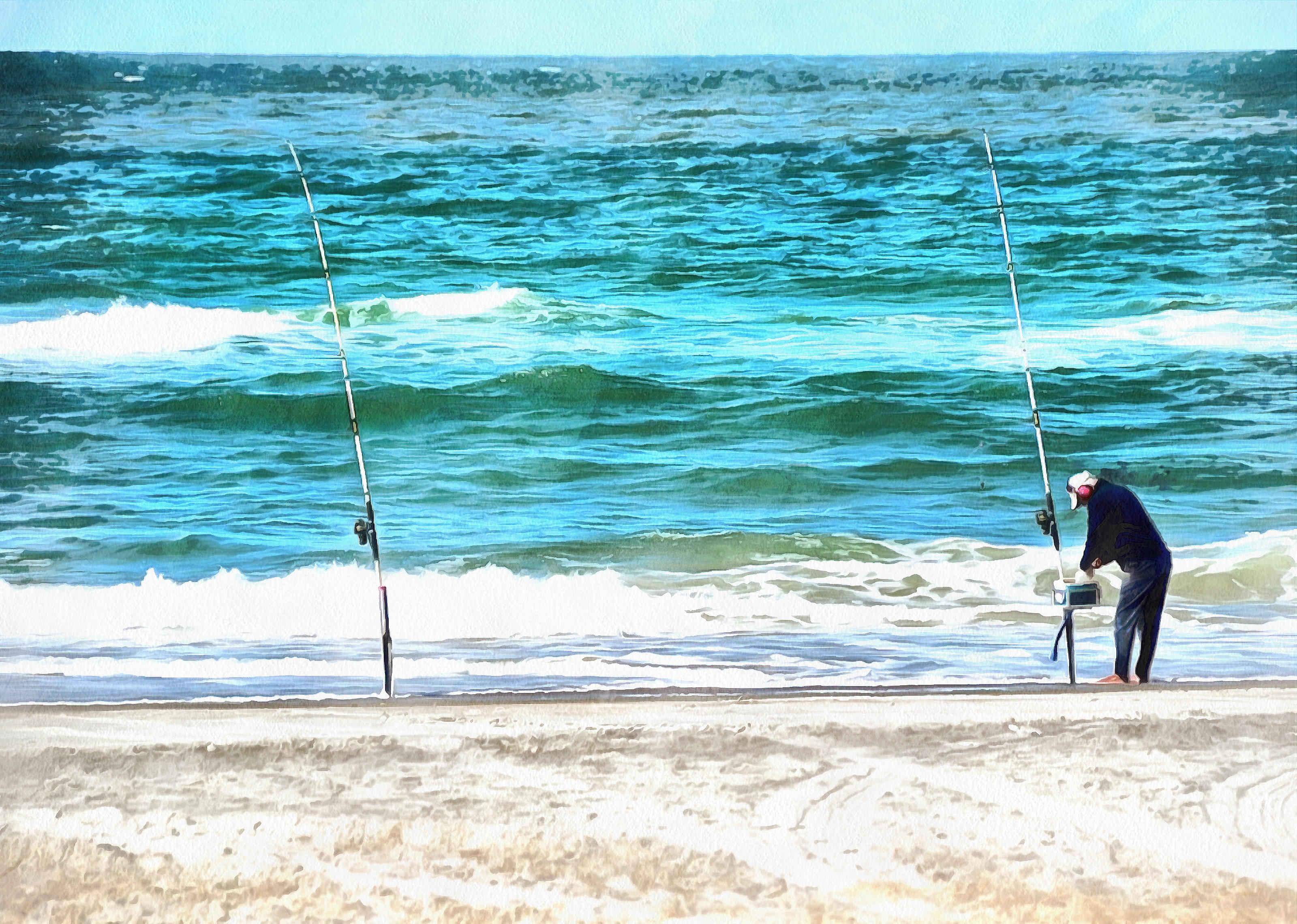 Рыбалка. Азовское море.