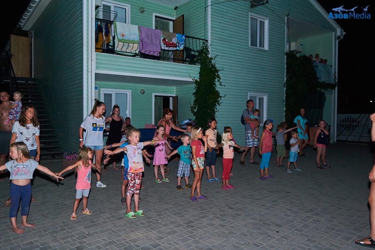 Детская дискотека с аниматорами. Степановка Первая.
