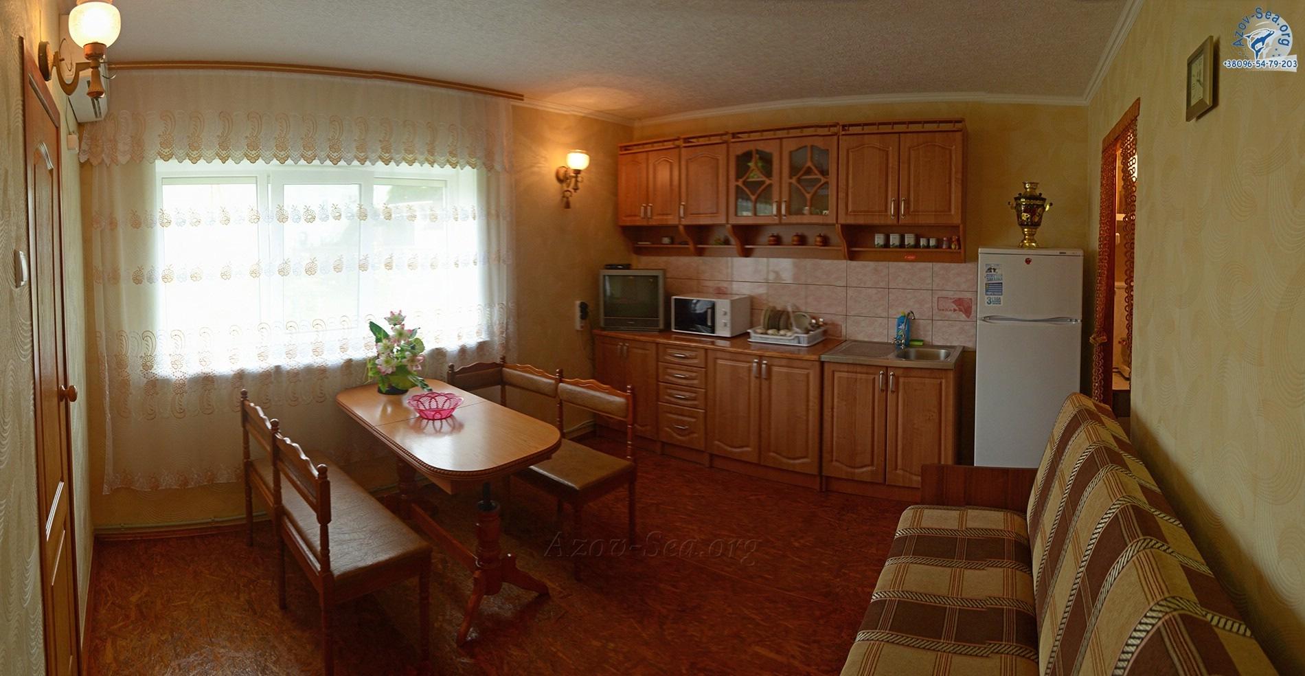 Пляжный домик №3. Степановка Первая.
