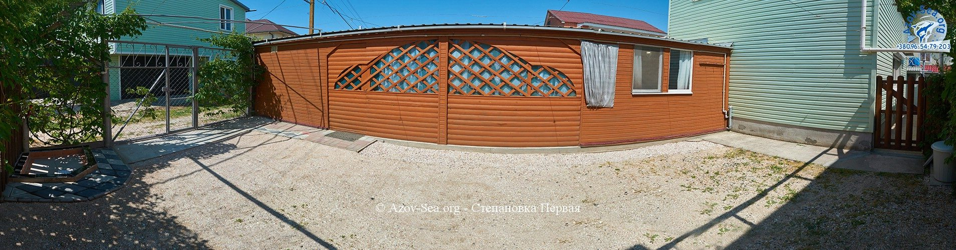 Пляжный домик. Отдых на Азовском море.
