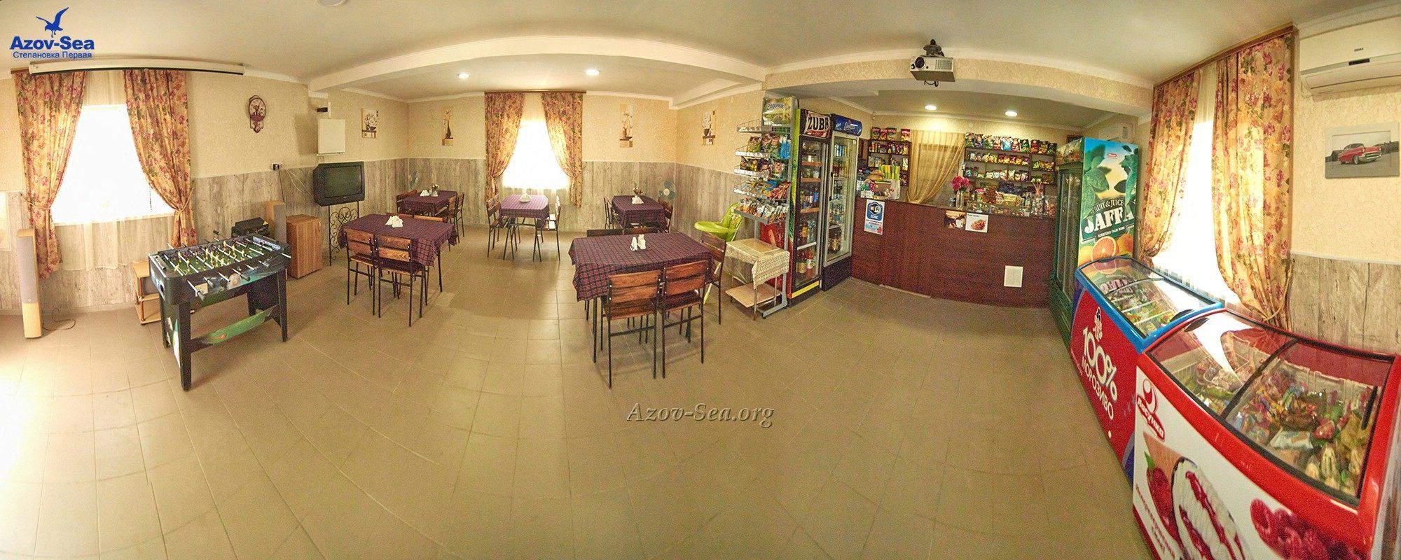 Кафе-Бар в пансионате Степановка-Семейый