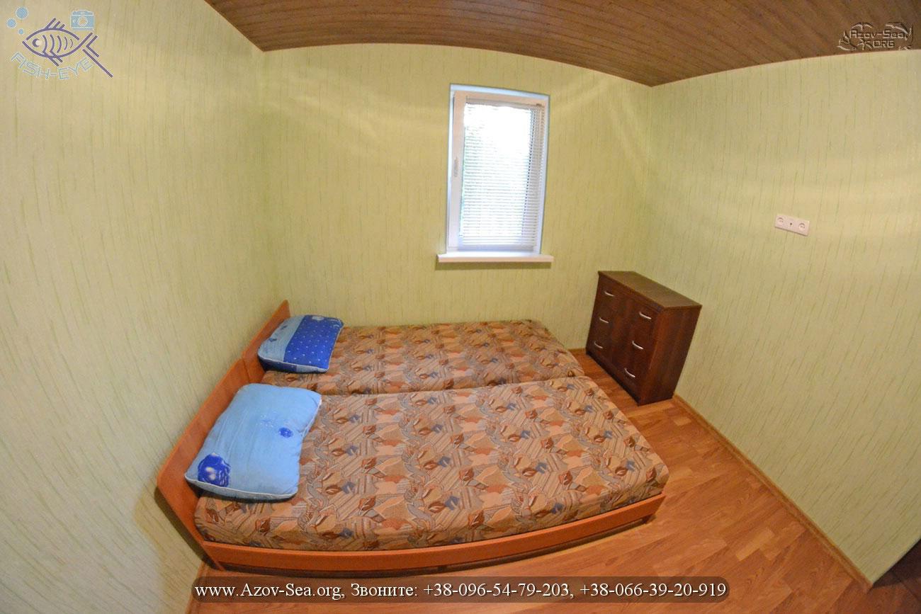 Двухкомнатный люкс, База отдыха Ксения