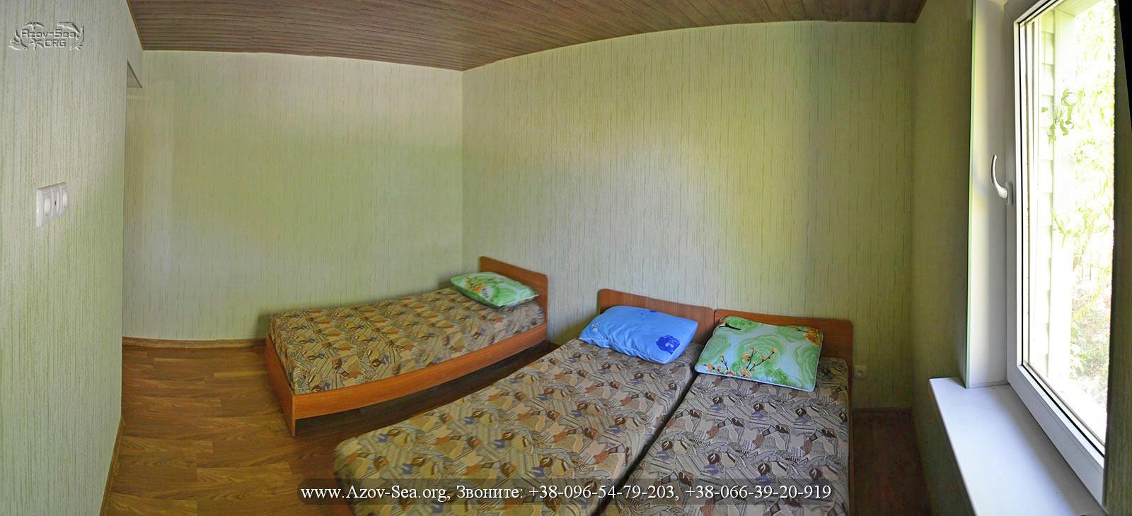 База отдыха Ксения, 6-ти местный 2-х комнатный