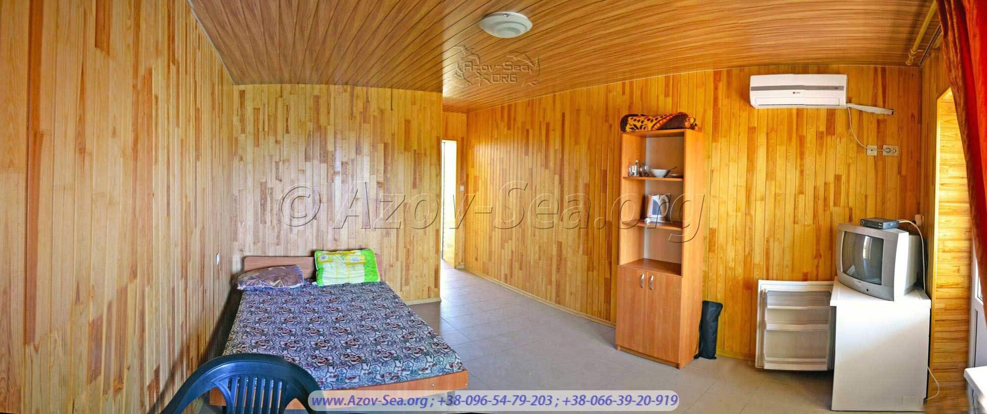 Однокомнатный 2-х местный люкс - 300 гривен