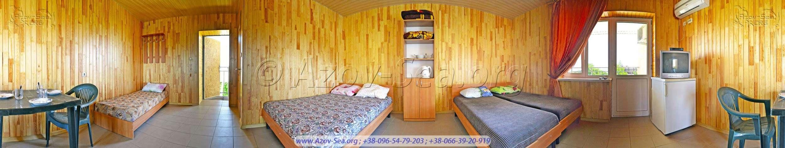 Однокомнатный 5-ти местный люкс - 450 гривен