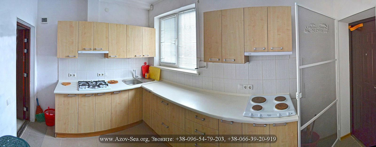 Пансионат Степановка - Общая кухня на 4-ре люкс номера