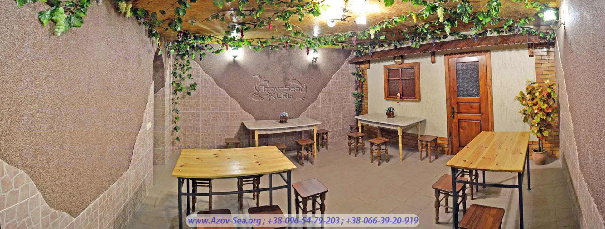 Пансионат Тимур, Новое кафе на побережье Азовского моря