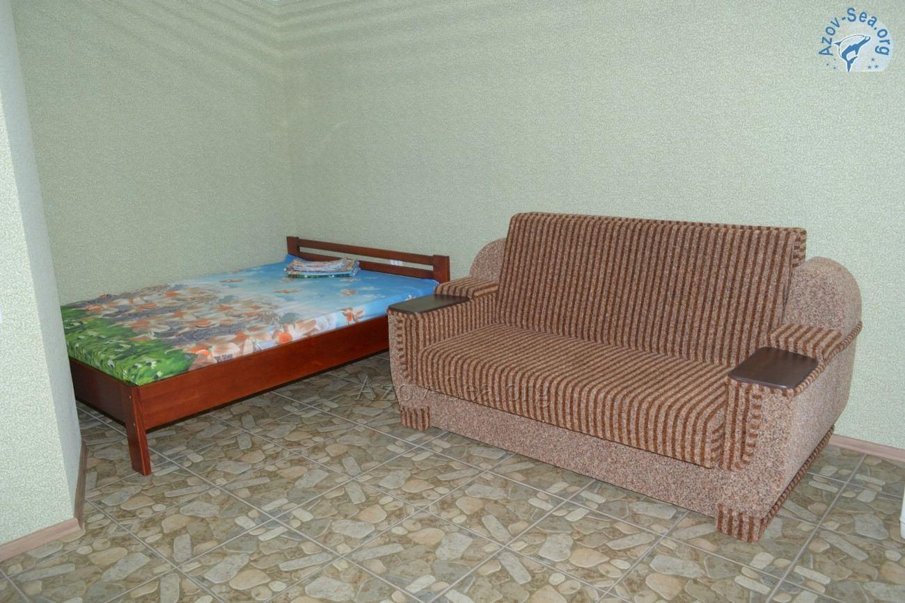 Номер 2 - Пансионат Афалина - Степановка 1 - Азовское море
