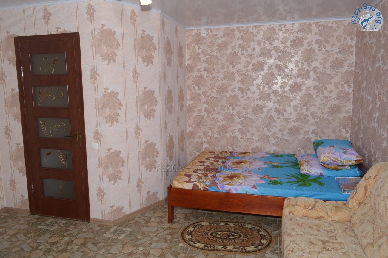 Номер 4 - Пансионат Афалина - Степановка Первая - Отдых на Азовском море