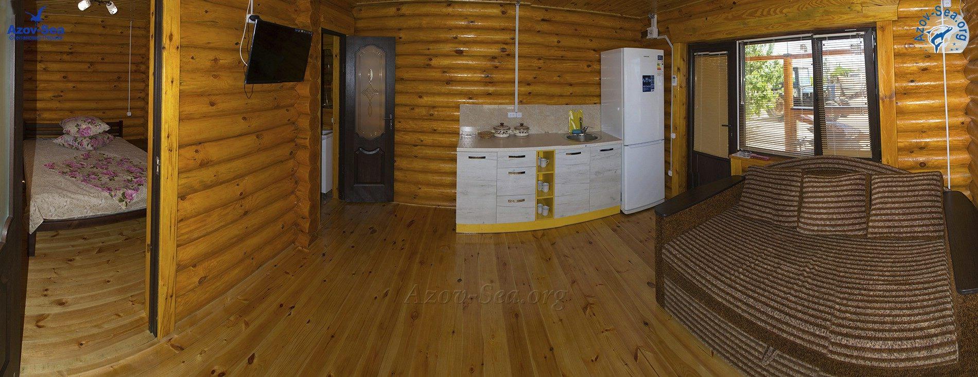 Пансионат Афалина. Двухкомнатные люксы с кухней.