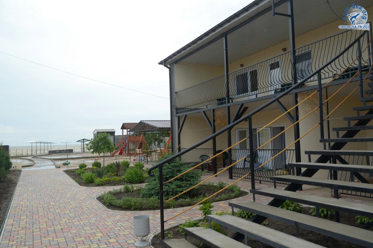 Новая набережная в пансионате афалина Степановка Первая
