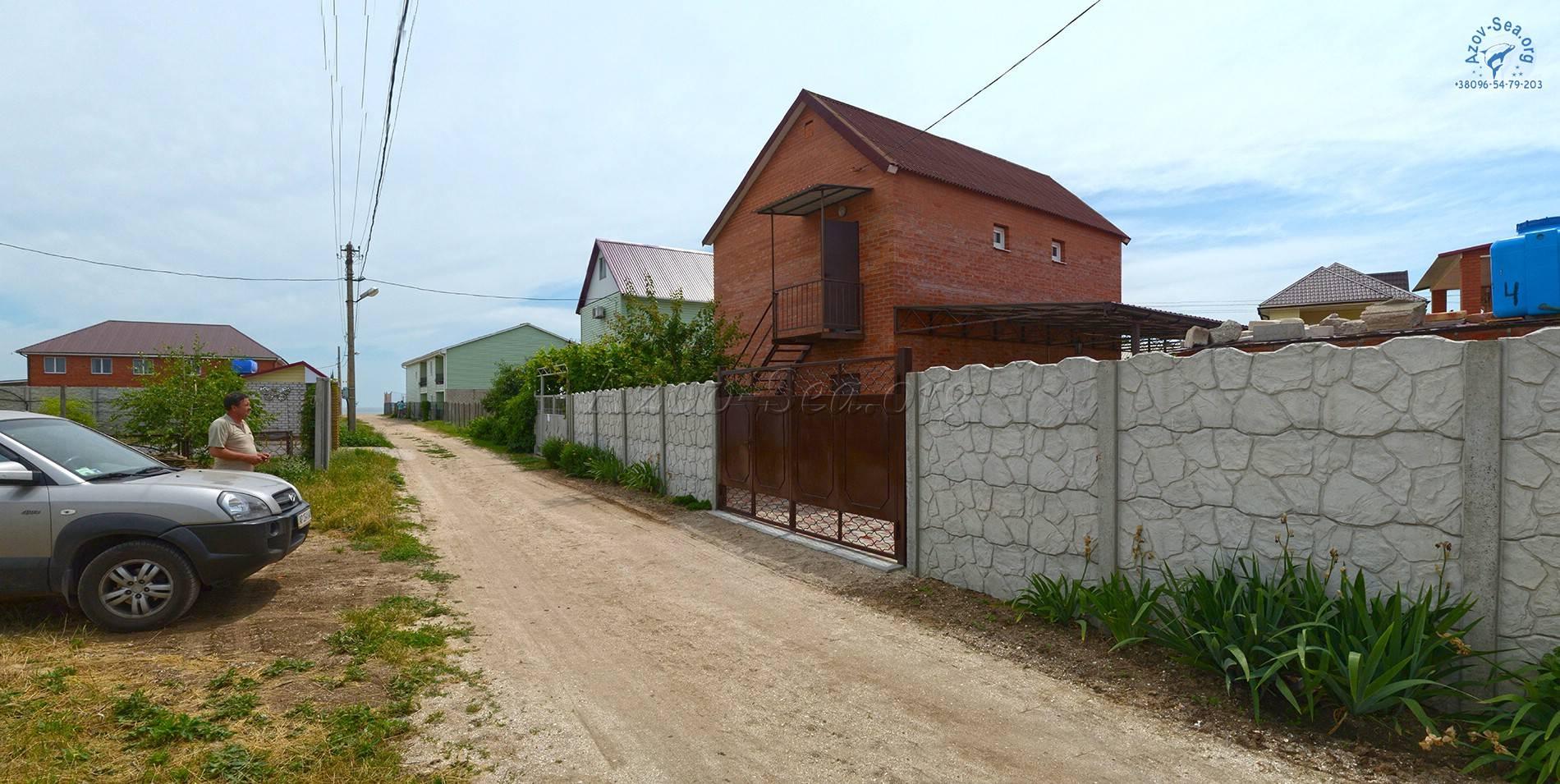Степановка-1. Пансионат Марсель. Азовское море