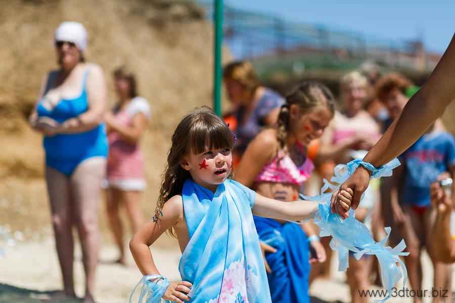 Степановка Первая. День Моря - День Нептуна. Отдых на Азовском море