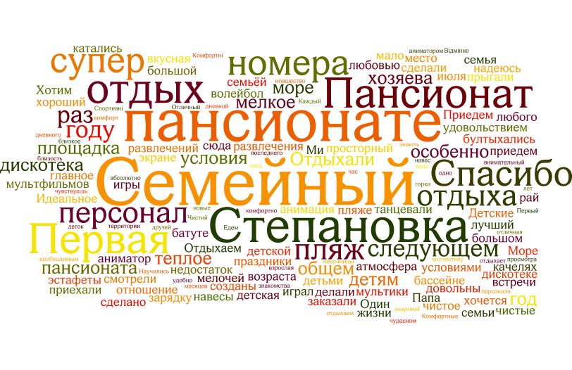 Пансионат Семейный - Отзывы Клиентов - Степановка Первая