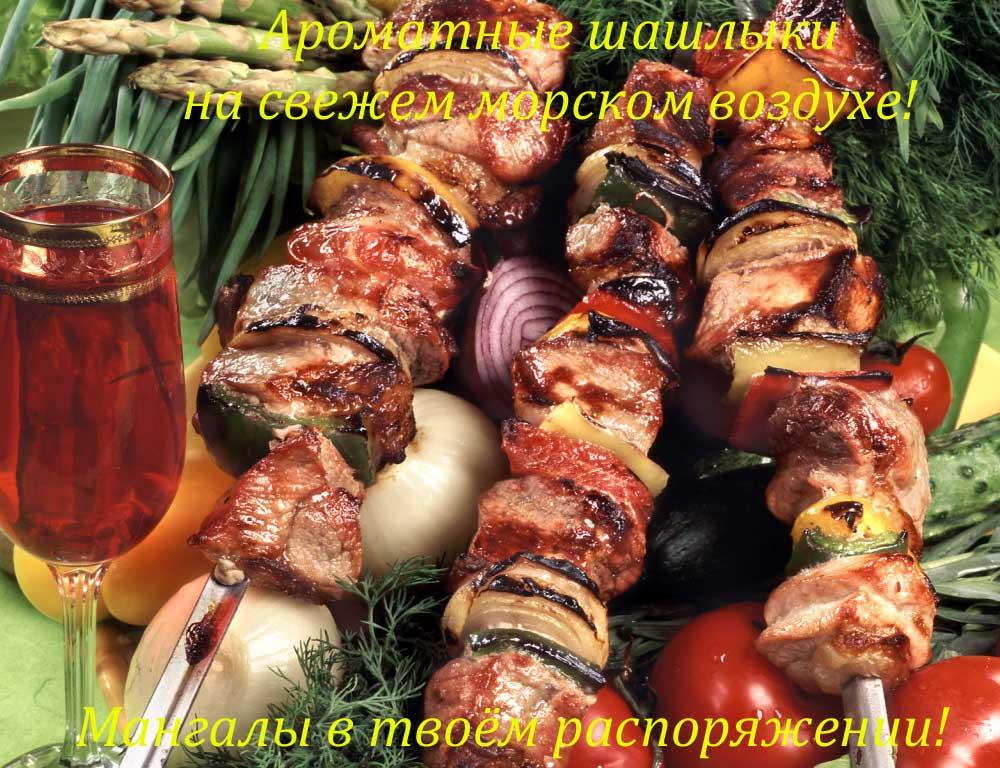 Шашлык - Пансионат Семейный. Степановка Первая.