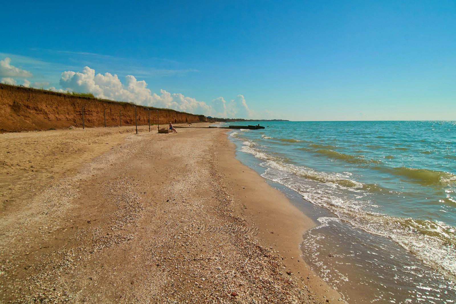 Фото пляжа лазовского рыбацкий