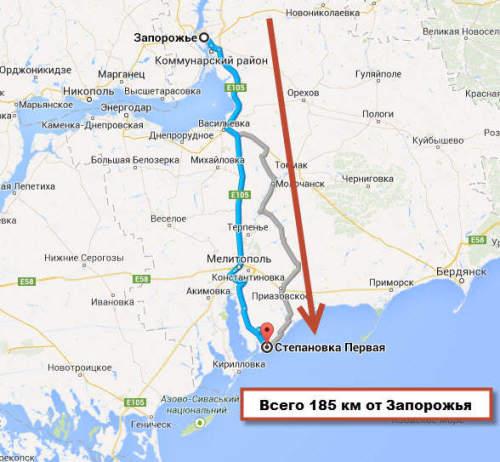 До моря 1 км дом на украине