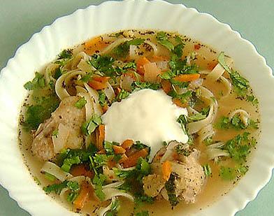 Суп-Лопша домашня