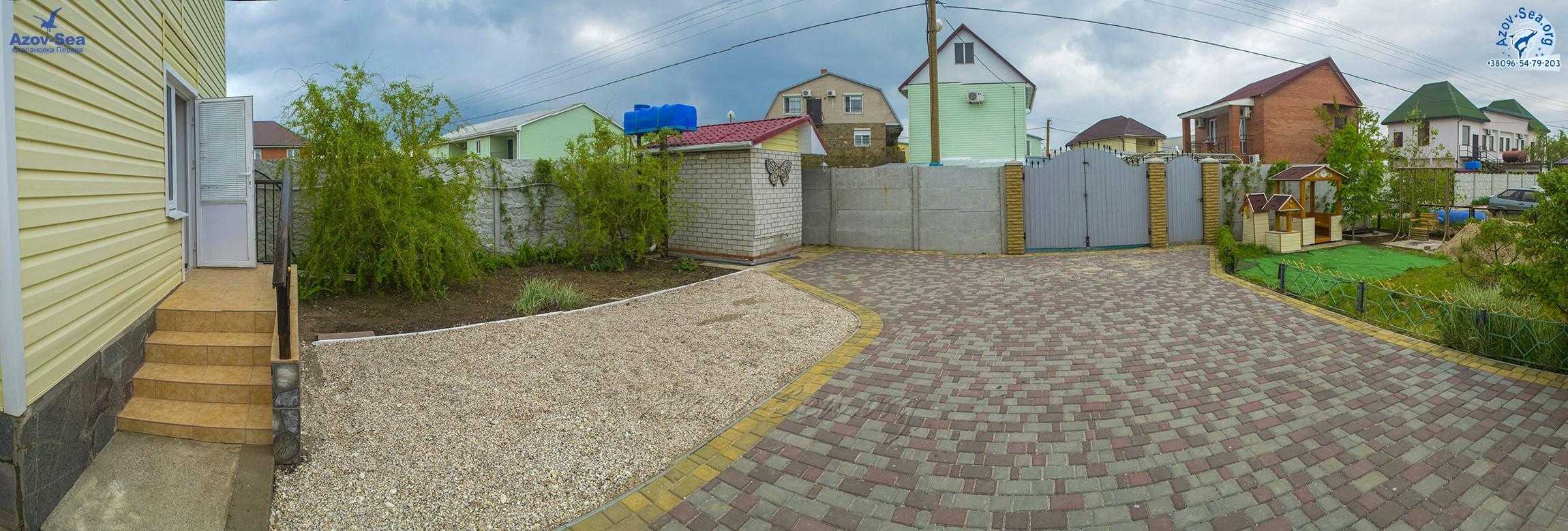 Пляжный домик №6. Степановка Первая. Отдых на Азовском море.