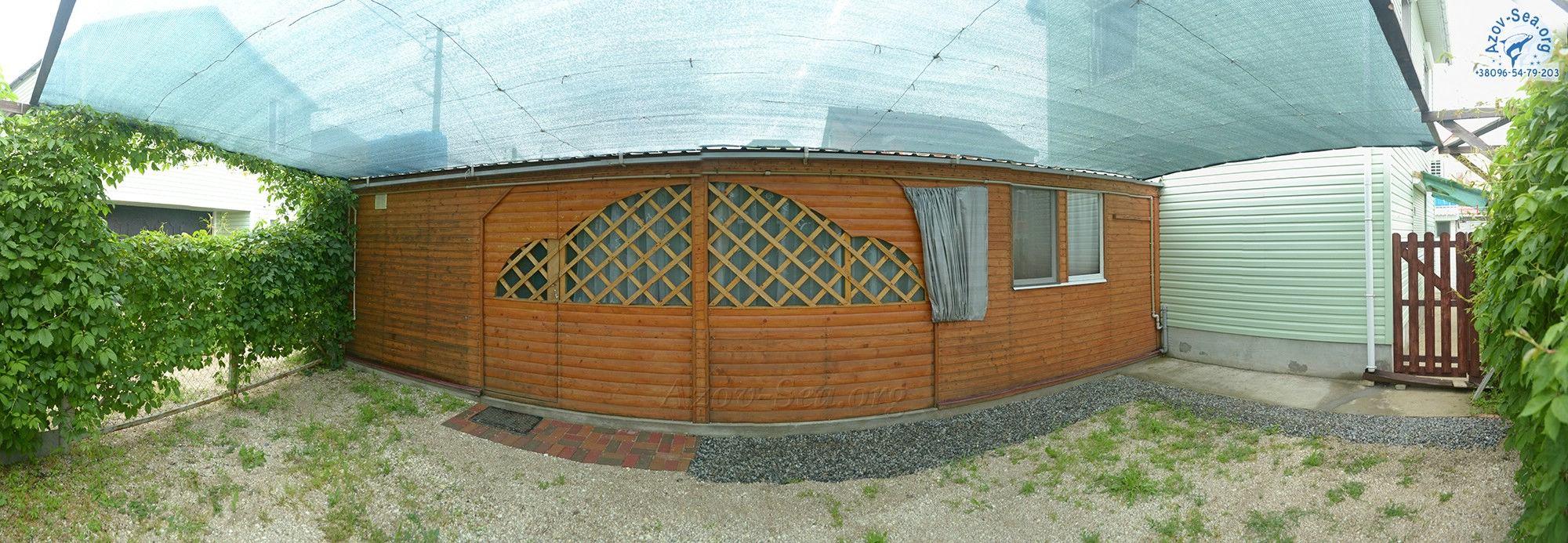 Пляжный домик в Степановке Первой. Азовское море.