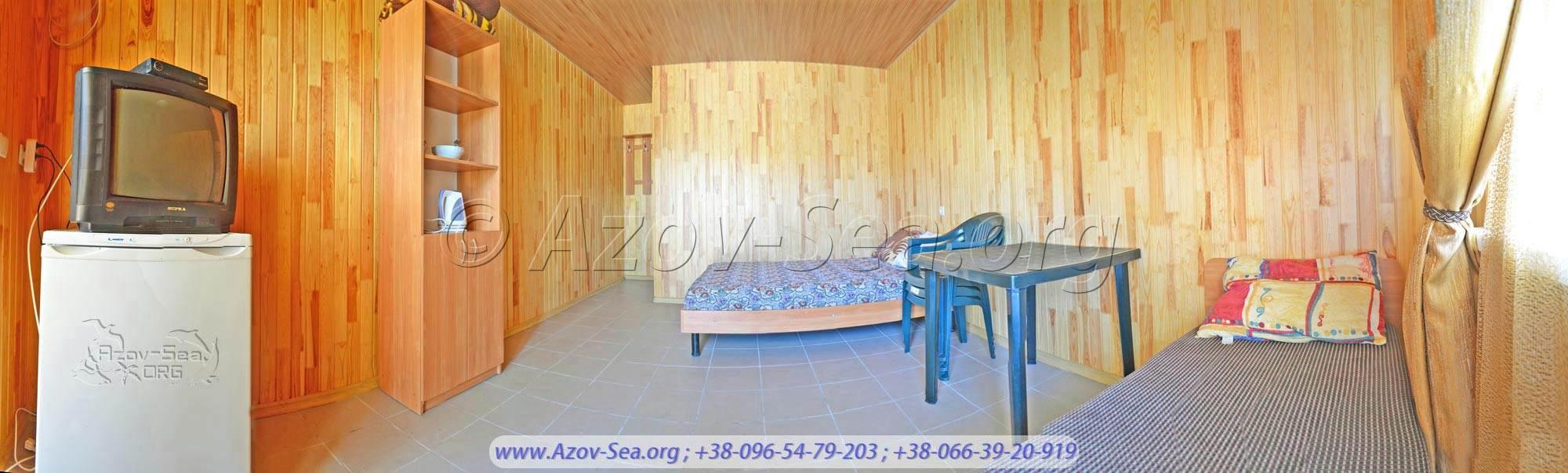 Однокомнатный 3-х местный люкс - 350 гривен