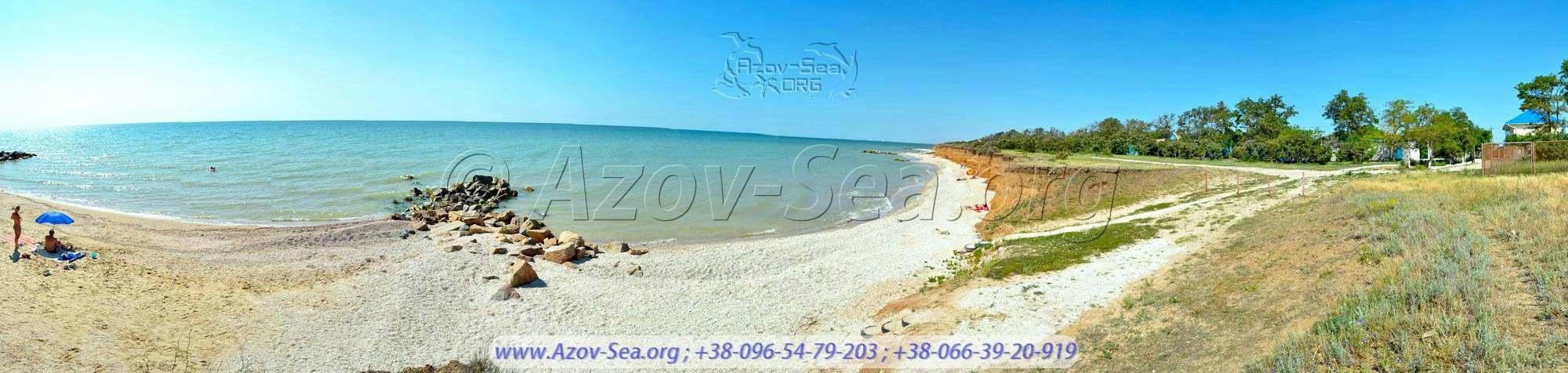 Отличный пляж в тихом месте. Степановка Первая.