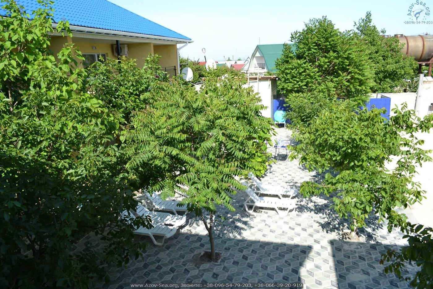 База отдыха Ксения 2. Отдых на Азовском море.