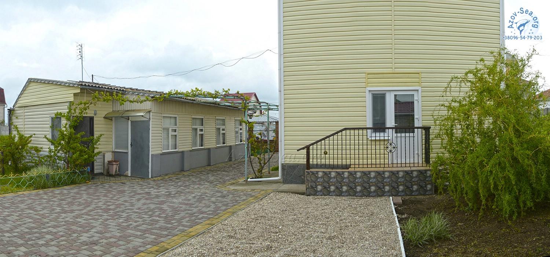 Пляжный домик. Степановка Первая